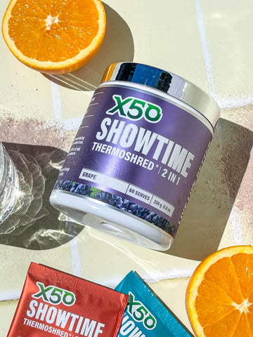 Showtime Thermoshred | 2 in 1 Fat Burner & Pre Workout