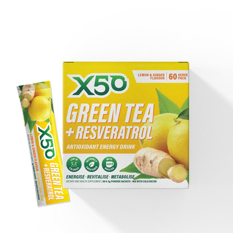 Lemon & Ginger Green Tea X50