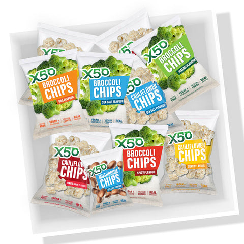 Assorted Vegetable Chip Box