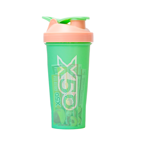 Green + Pink X50 Shaker with 12 Samples
