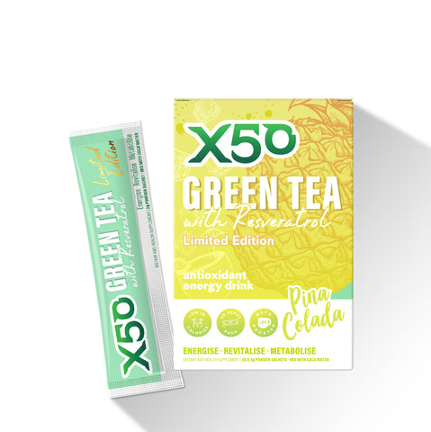 Pina Colada Green Tea X50 Limited Edition