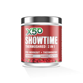 Raspberry Showtime Thermoshred