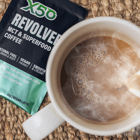 Vegan Latte Revolver MCT & Superfood Coffee