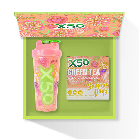 Summer Dayz Green Tea X50 Gift Set
