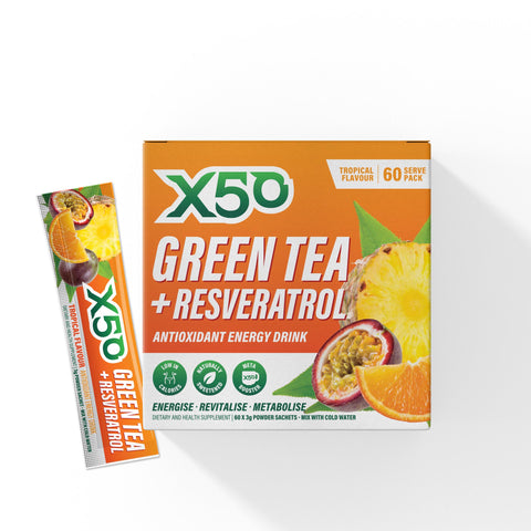 Tropical Green Tea X50