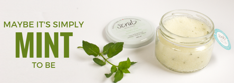 Simply Mint Benefits Scrub Inspired