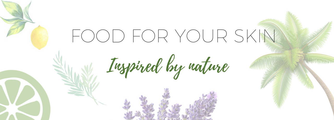 scrub inspired green beauty skincare food for your skin