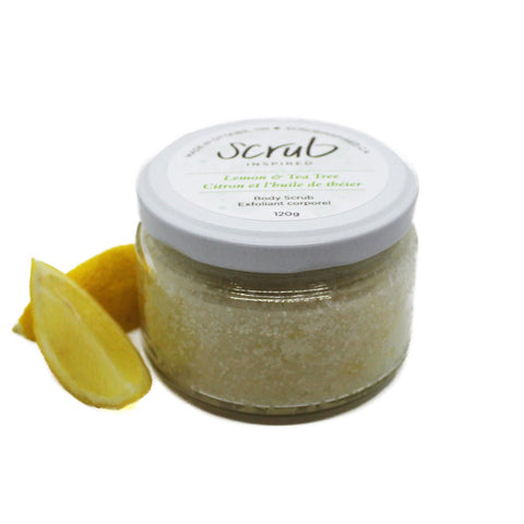 Lemon and Tea Tree Scrub Inspired