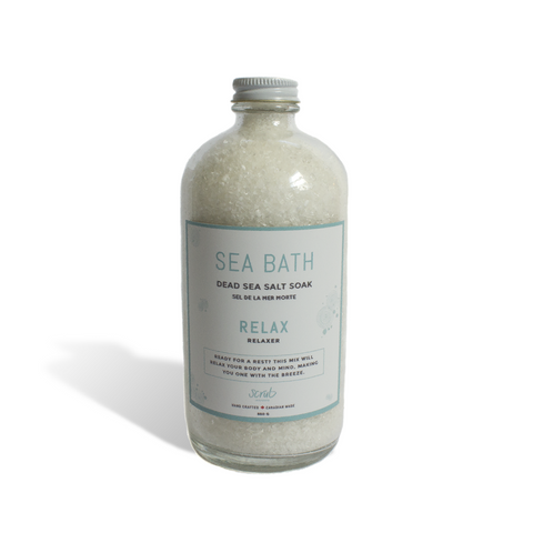 Relax Sea Bath Scrub Inspired