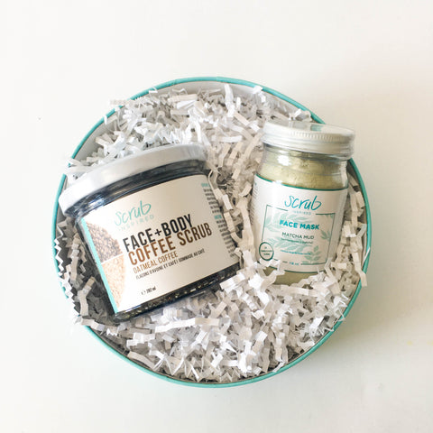 Face Mask + Sugar Face Scrub Bundle