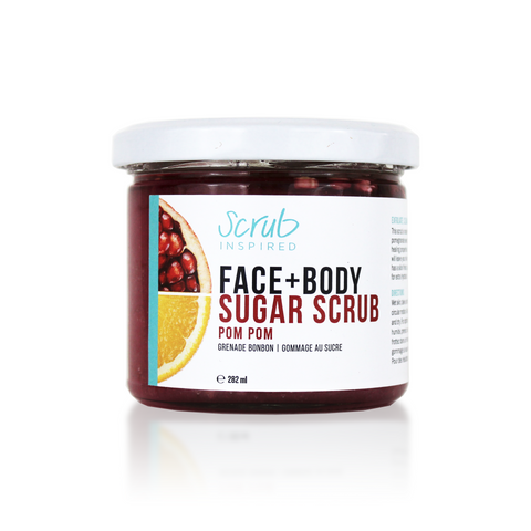 Pom Pom [face + body sugar scrub]