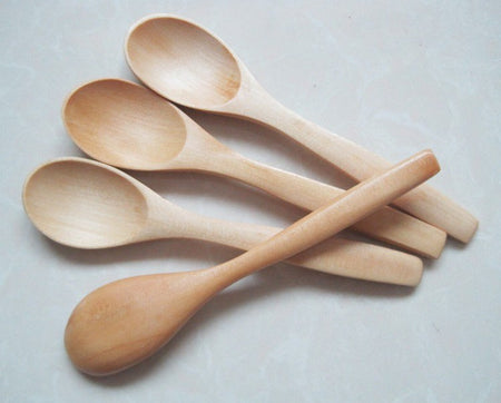Wooden Scrub Spoon