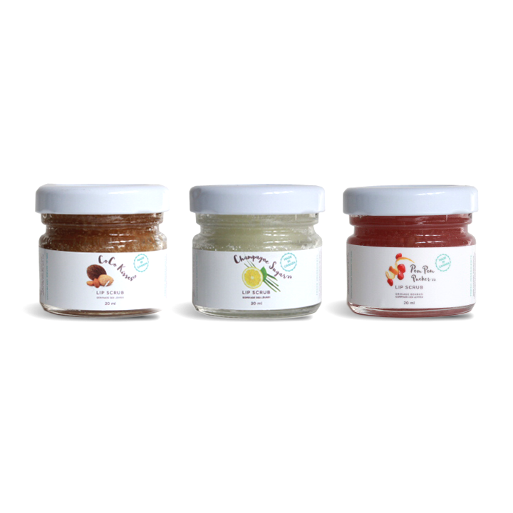 Lip Scrub Trio