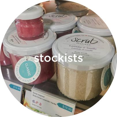 Where to find locations selling scrub inspired in canada