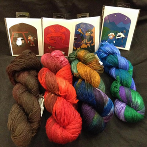 Purl's Exclusive Hand-Dyes & Specialty Items