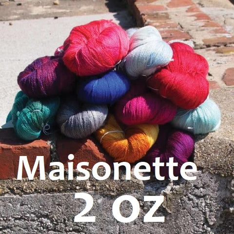 Neighborhood Fiber Maisonette Lace (2oz skeins)
