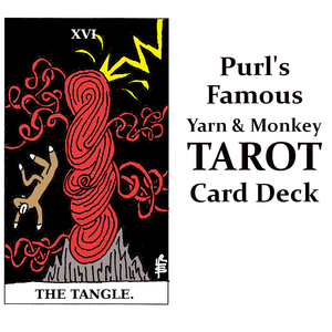 Purl's Sock Monkey Tarot Deck