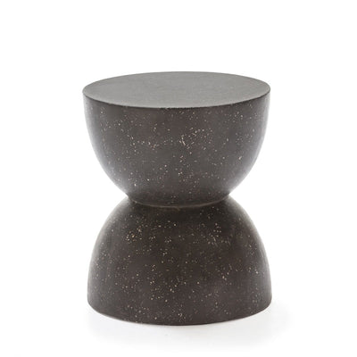 Design KNB Black Terrazzo Side Table/ Stool