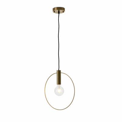 Design KNB Ceiling Lamp Pendant in Golden Metal