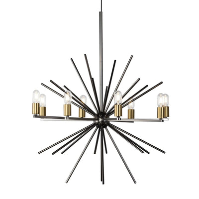 Design KNB Ceiling Lamp (Star Shaped) in Metal with Gold/Black/Silver