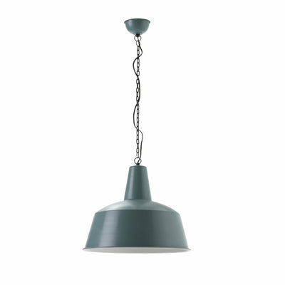 Design KNB Ceiling Lamp with Blue and White Metal