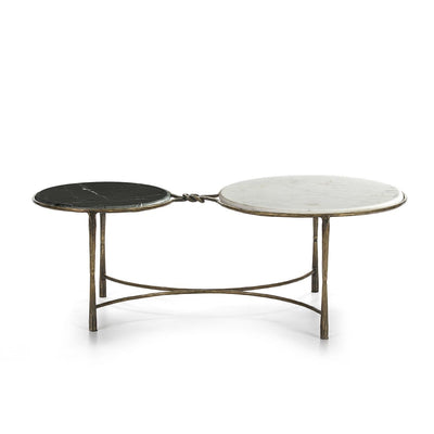Design KNB coffee table Coffee Table with Black and White Marble