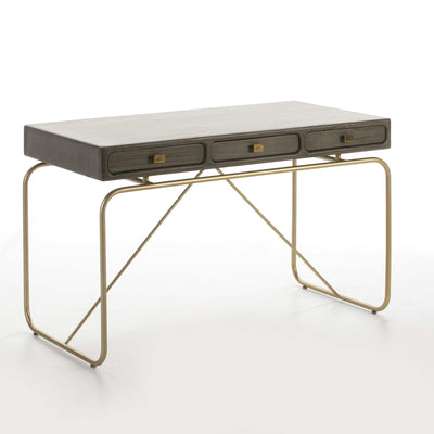 Design KNB Contemporary Desk in Grey Wood