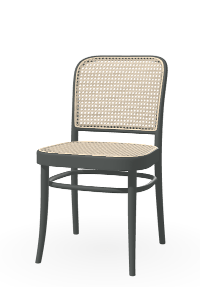 Design KNB different colours to choose from N.811 Cane Chair beech chair by TON (sold in a set of 2 chairs)