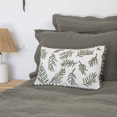 Design KNB Jungle Pompons Cushions in different colours