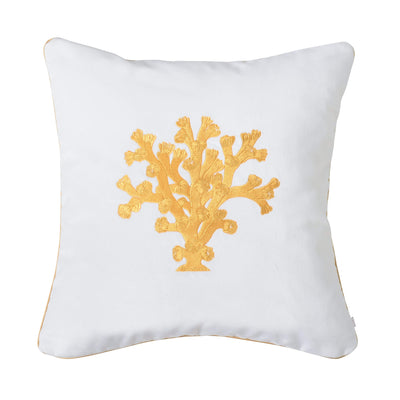 Design KNB Luxurious Cushion Coral No2 Gold with Piping