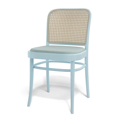 Design KNB N.811 Chair upholstered beech chair by TON