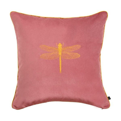 Design KNB Pink Luxury Velvet Cushion Insectarium N ° 1