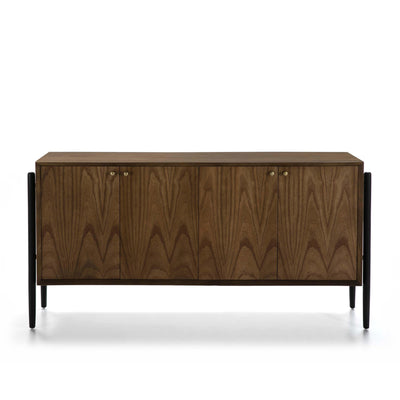 Design KNB Sideboard in Brown/Black Wood