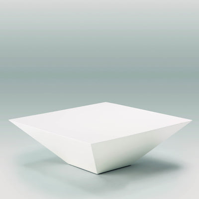 Design KNB Square White Coffee Table - Modern Coffee Table