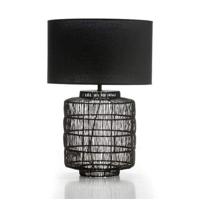 Design KNB Table Light in Black Metal without Lampshade