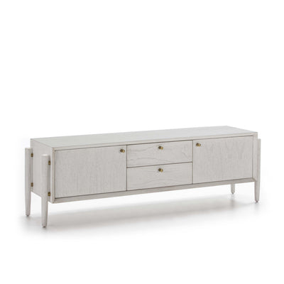 Design KNB TV Furniture in White Wood