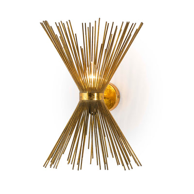 Design KNB Wall Light in Golden Metal