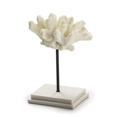 Design KNB White Resin Centre piece/ Decorative element