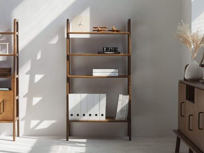 Plywood Project Mid-Century bookcase FRISK Midi 4 shelves