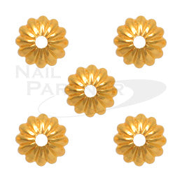 Capri Sea Anemone Gold L 30pcs