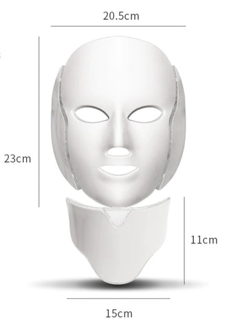 Professional LED Light Therapy Mask_Size