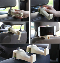 Load image into Gallery viewer, 2-IN-1 CAR HEADREST HOOK