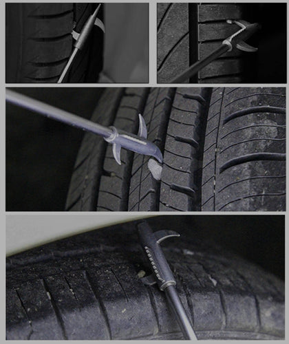Multifunctional Car Tire Cleaning Hook