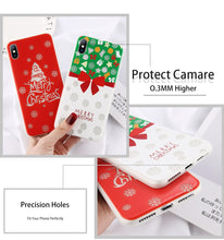 Load image into Gallery viewer, Luminous Christmas Phone Cases For iPhone