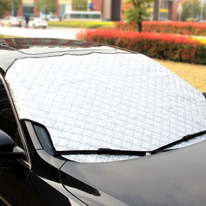 Windshield Cover- Rain Ice Snow Protector&Anti-Sun UV