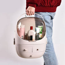 Load image into Gallery viewer, Space Capsule Makeup Organizer
