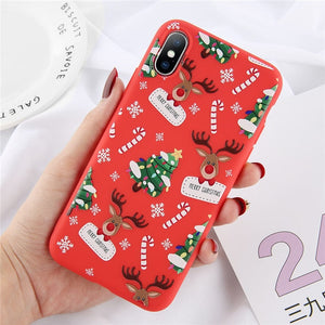 Snowflake Christmas Phone Case For iPhone