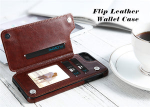 WALLET PHONE CASE WITH CARD SLOT FOR IPHONE