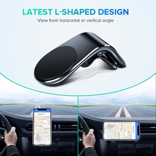 Mini Metal Magnetic Car Phone Holder