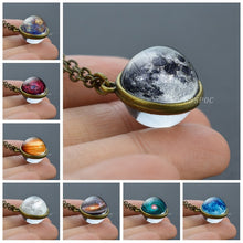 Load image into Gallery viewer, Crystal Ball Glass Necklace